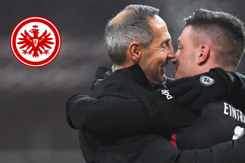 Eintracht Frankfurt gegen Hertha BSC: Startelf-Einsatz von Frankfurts Luca Jovic offen