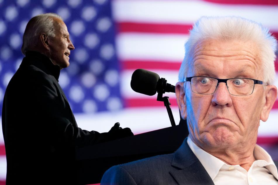 Kretschmann wünscht sich Wechsel in US-Regierung