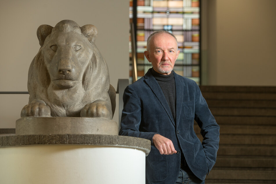 Prof. Klaus Vogel (64), Direktor des Deutschen Hygiene-Museums in Dresden