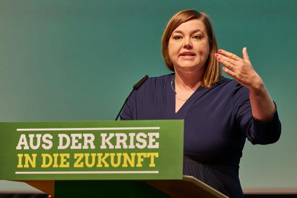 Katharina Fegebank (Bündnis 90/Die Grünen) ist die zweite Bürgermeisterin von Hamburg.