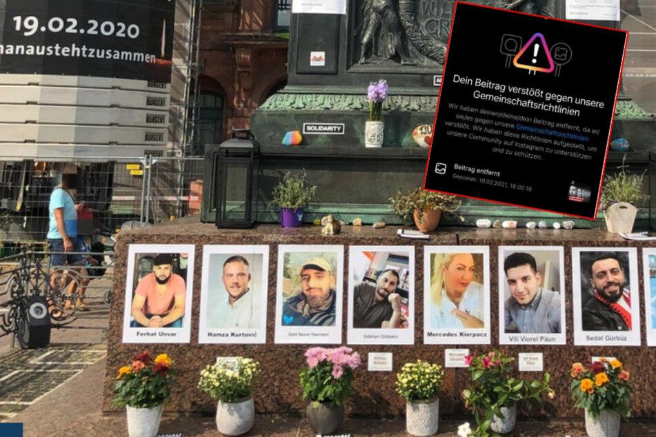 """""""Monitor""""-Chef stinksauer: Facebook und Instagram sperren WDR-Beitrag zum Hanau-Attentat"""