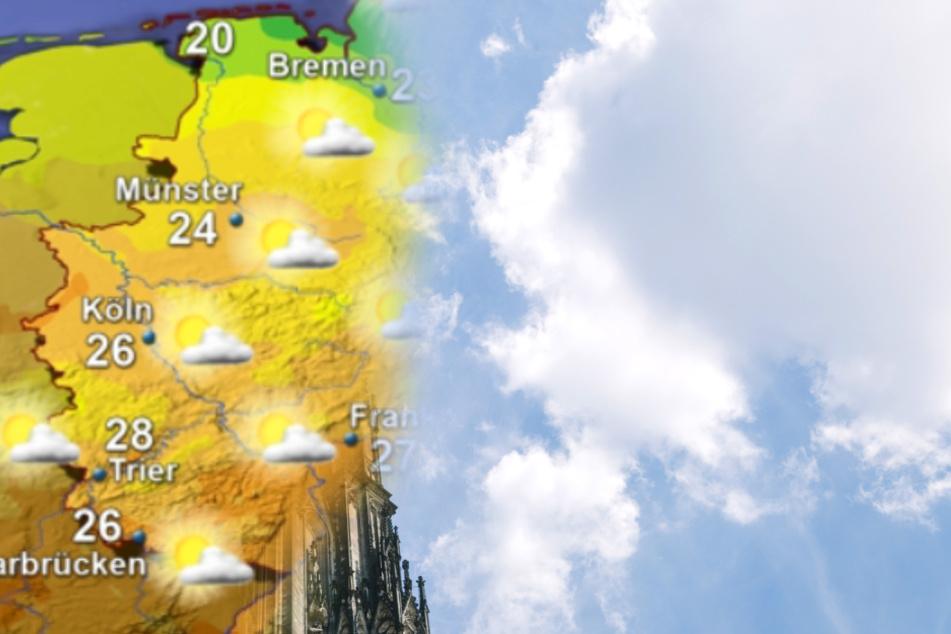 Das Wetter in Köln und NRW wird am Wochenende nicht gerade traumhaft!