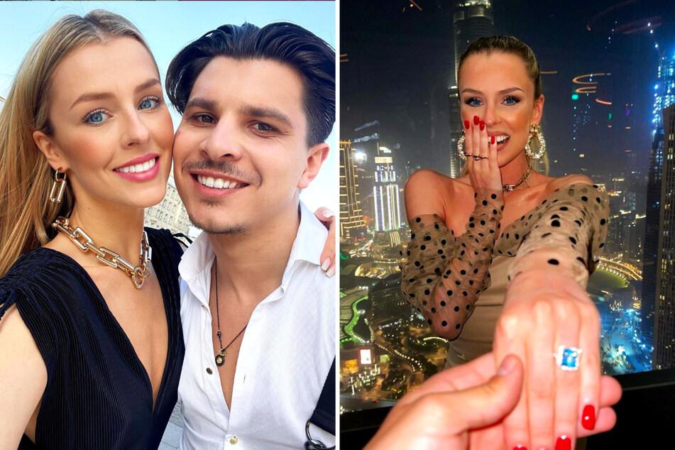 """Die """"Let's Dance""""-Stars Patricija Belousova (26) und Alexandru Ionel (27) heiraten nicht nur, sie bekommen auch Nachwuchs."""
