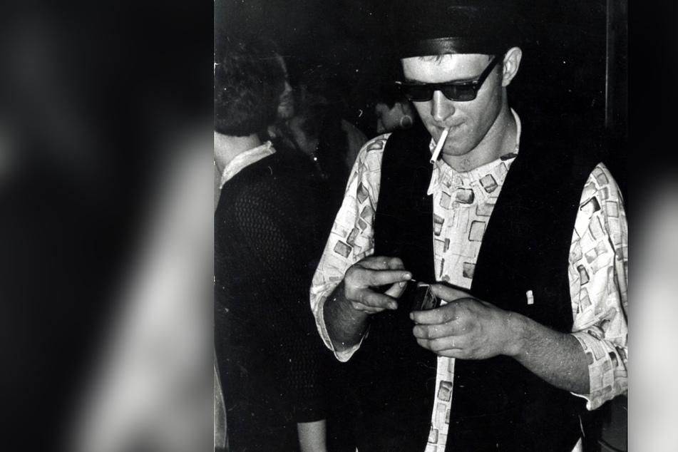 """Coole Zeiten: Peer Ehmke beim """"Disco-Marathon"""" in einem Karl-Marx-Städter VZ, etwa 1987."""
