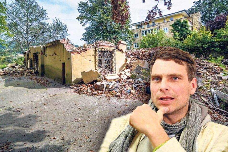 Nach illegalem Villa-Abriss: Jetzt tobt der Kampf ums Baugrundstück