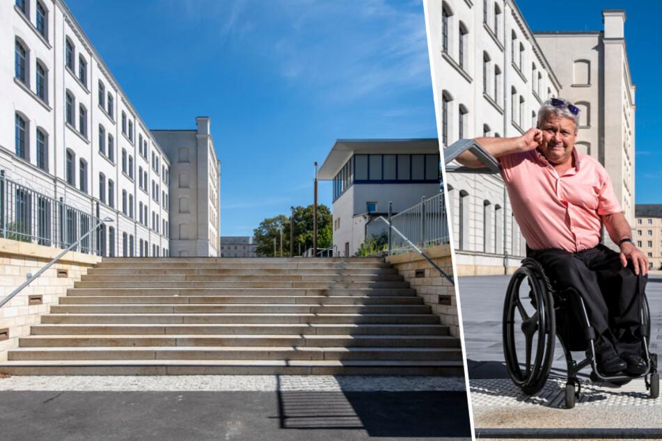 Trotz 53 Mio. Euro teurer Sanierung! Alte Aktienspinnerei wird für Rollstuhlfahrer zum Problem