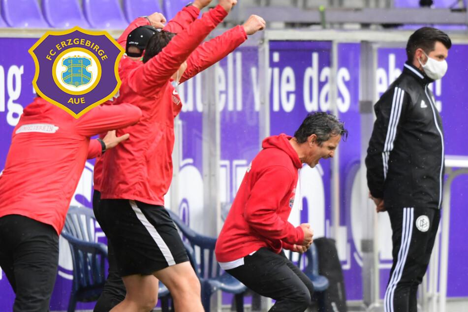 FC Erzgebirge Aue: Im vierten Anlauf klappt's
