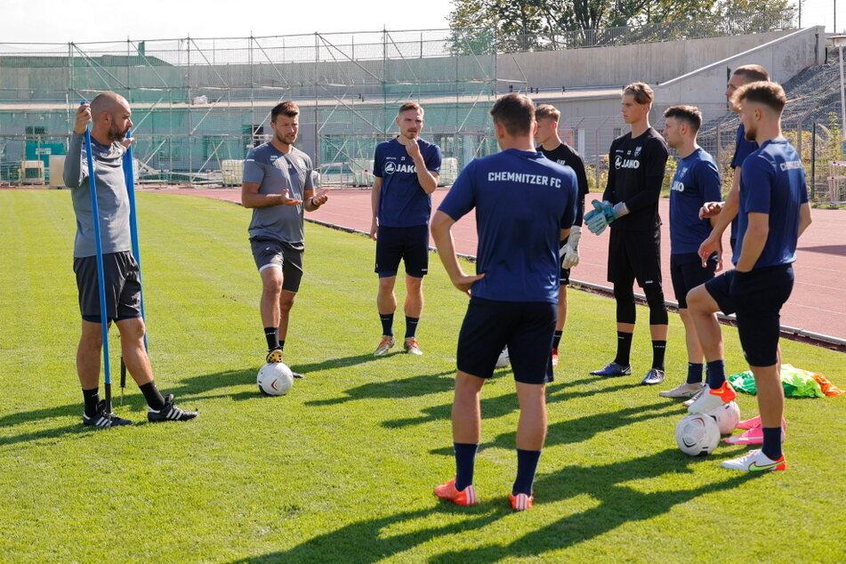 Aktuell stehen einfach zu wenige CFC-Spieler für das Training zur Verfügung.