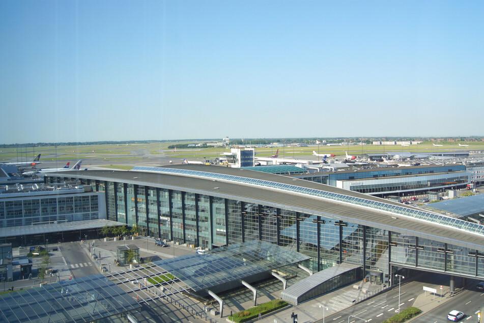 Der Airport Kopenhagen-Kastrup.