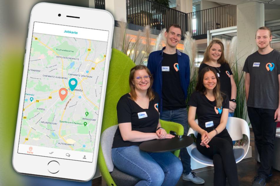 Wie Tinder: Mittweidaer Studenten entwickeln Dating-App für Jobsuchende