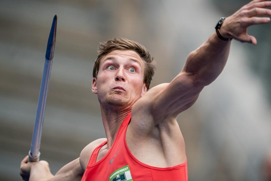 Thomas Röhler (29) wurde 2016 Olympia-Sieger im Speerweitwurf.