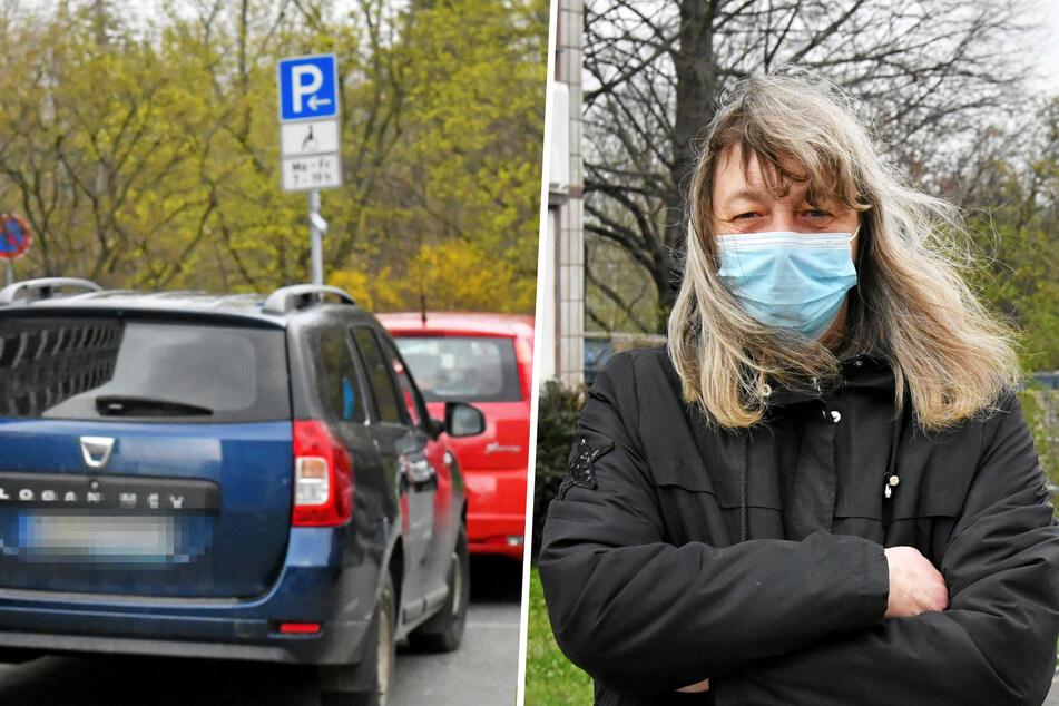"""Dresden: Ärger vor der Kita: """"Eltern-Taxis"""" stellen die Parkplätze für Behinderte zu"""