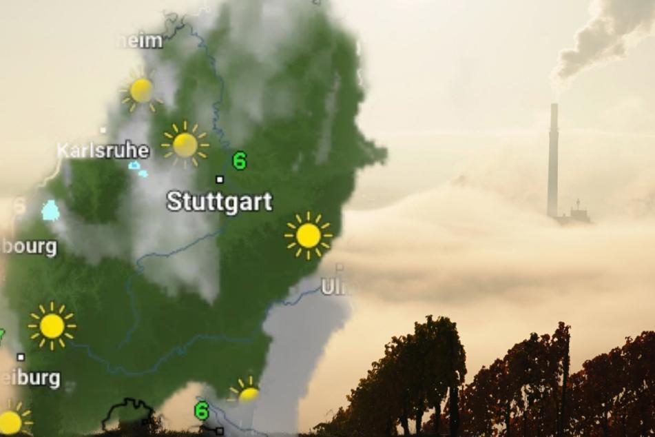 Baden-Württemberg: So startet das Wetter in die neue Woche