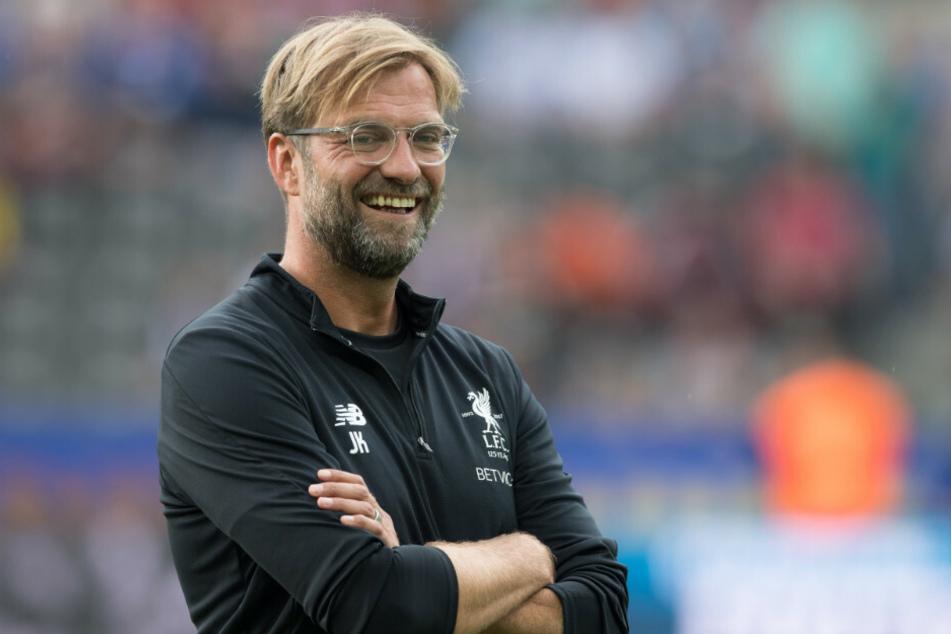 Liverpool-Coach Jürgen Klopp (53) hat seinem Schützling Loris Karius zu einem Wechsel in die Bundesliga zum 1. FC Union Berlin geraten. (Archivfoto)
