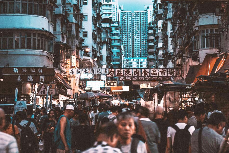 In Hongkong verbreitet sich das Coronavirus wieder vermehrt (Archivbild).