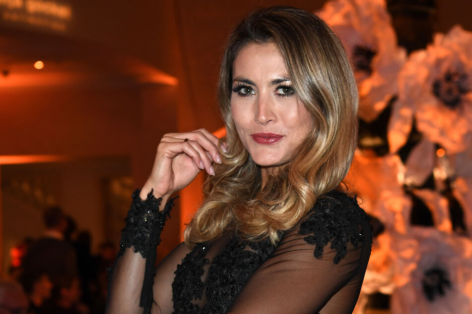 Fiona Erdmann (31) bei der Berlin Fashion Week (Archivbild).