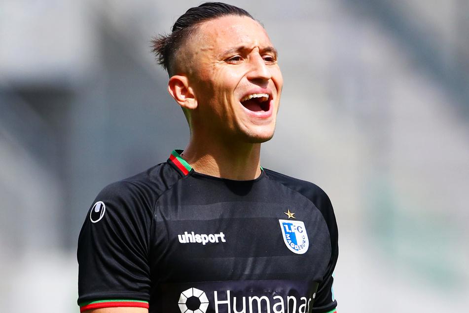 Der 1. FC Magdeburg um Ex-Dynamo Baris Atik (26) führt das Ranking in der 3. Liga trotz zwei Niederlagen in Folge weiter an. Doch der Vorsprung schmilzt.