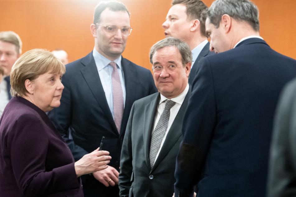 Markus Söder schneidet in den Umfragen deutlich besser ab als beispielsweise Armin Laschet.