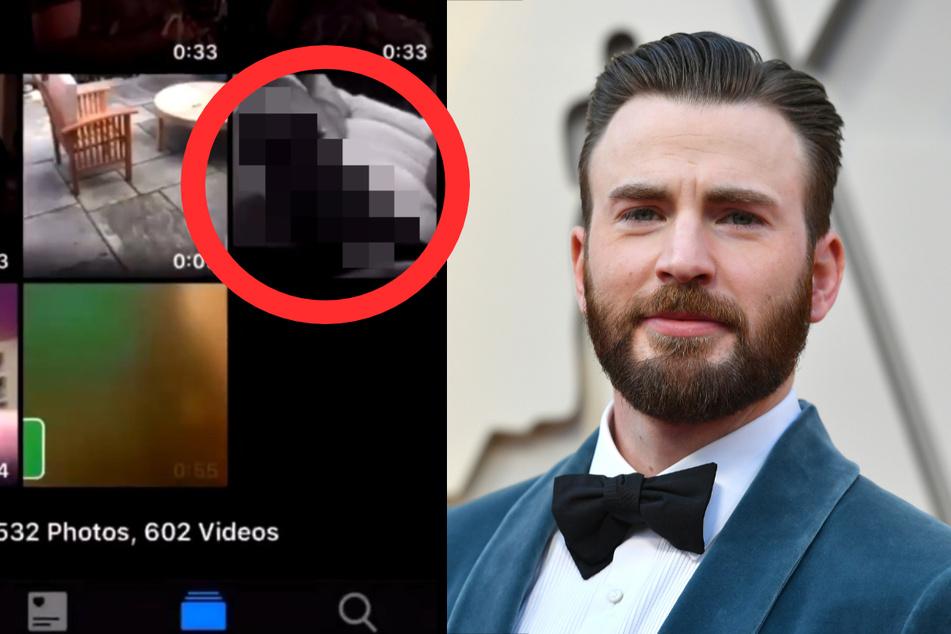 Captain America star Chris Evans accidentally posts nude photo