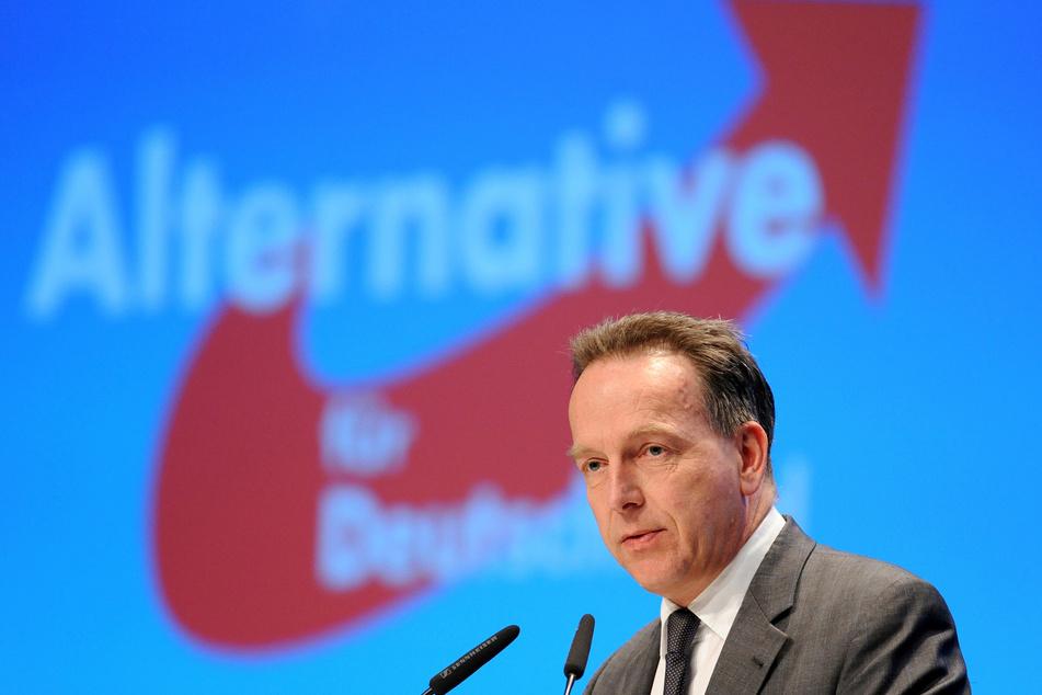 Stefan Homburg, Professor für Öffentliche Finanzen an der Universität Hannover, hält auf dem 3. Bundesparteitag der Alternative für Deutschland (AfD) in Bremen einen Gastvortrag.