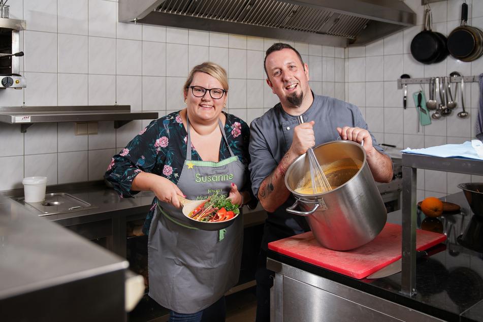 """Gemeinsam mit Ex-Konkurrentin Susanne Klippstein kocht der """"The Taste""""-Gewinner Marko Ullrich nun in seinem Restaurant."""