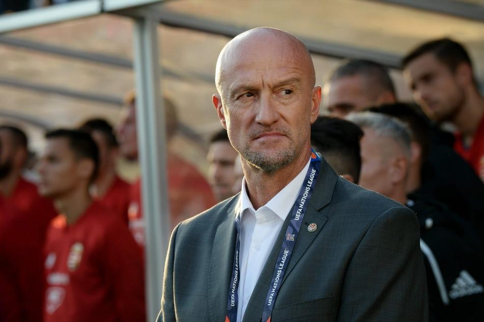 Fühlt sich bei der EM wie ein Kind in einem Freizeitpark: Ungarns Nationaltrainer Marco Rossi (56).