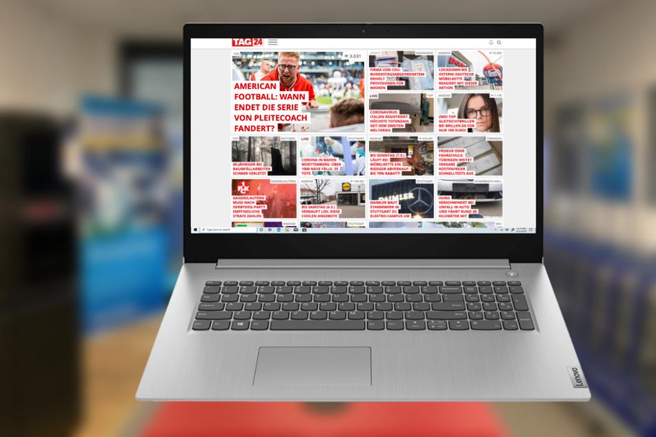 Euronics wieder offen und verkauft dieses Notebook zum Tiefstpreis