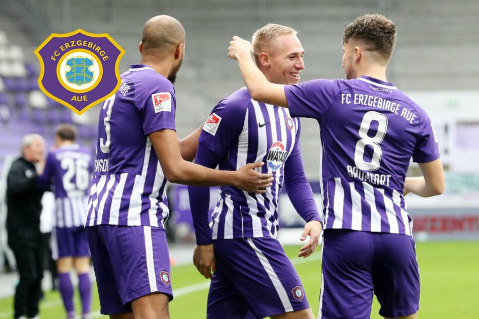 Krügers Blitz-Tor und 75 Minuten Überzahl reichen dem FC Erzgebirge Aue nicht zum Sieg