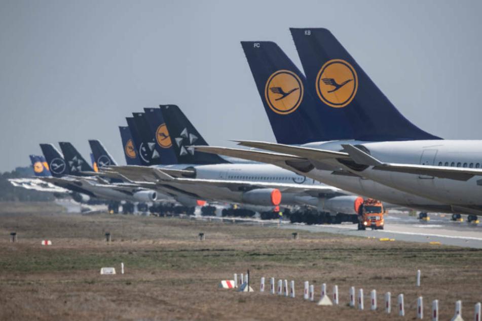 """Trotz der Krise will die angeschlagene Lufthansa """"möglichst viele Mitarbeiter an Bord halten"""" (Archivbild)."""