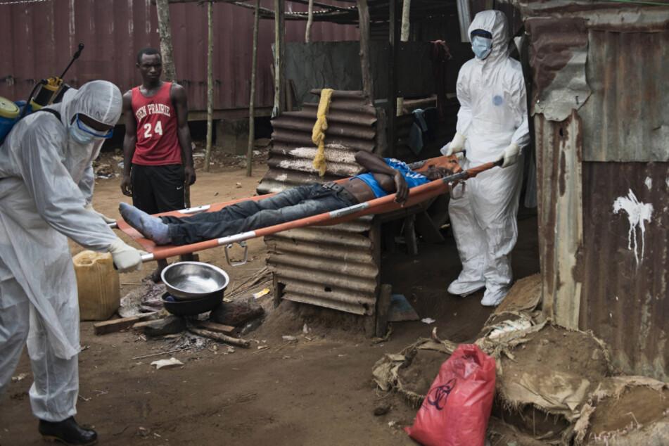 Das Ebola-Virus - wie hier in Liberia - konnte zeitweise eingedämmt werden. Derzeit greift es aber wieder im Kongo um sich.
