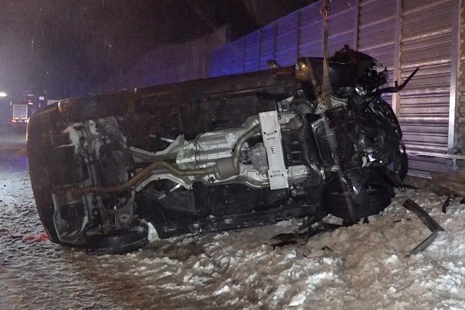 Unwetter in Sachsen-Anhalt: Schwerer Unfall nach Eisregen auf der A2