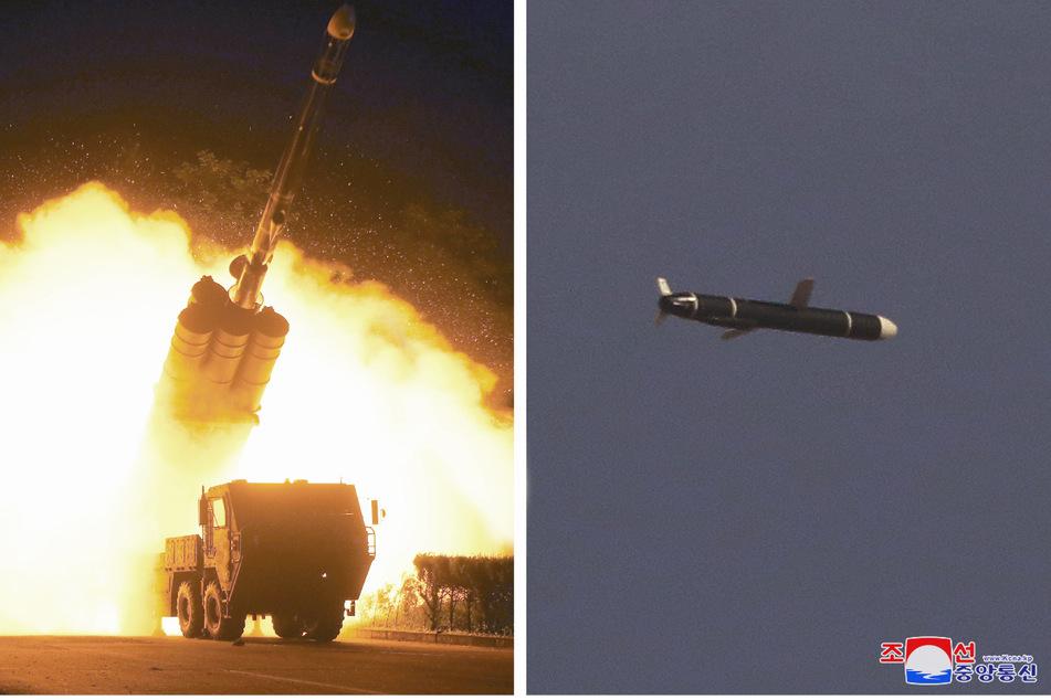 Nordkorea soll in den letzten Tagen bereits einen Marschflugkörper wie diesen abgefeuert haben.