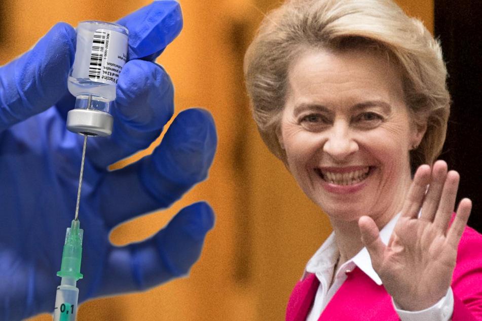 Halbherzige Entschuldigung: Von der Leyen weist Kritik an Impfstoff-Beschaffung zurück