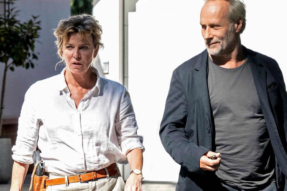 """Die """"Tatort""""-Kommissare Anna Janneke (Margarita Broich, 61) und Paul Brix (Wolfram Koch, 59) ermitteln am Sonntag wieder im ARD-Abendprogramm."""