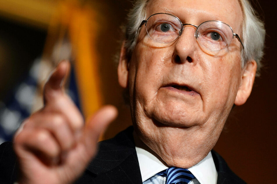 Senate Majority Leader Mitch McConnell acknowledged President-elect Joe Biden's win for the first time.