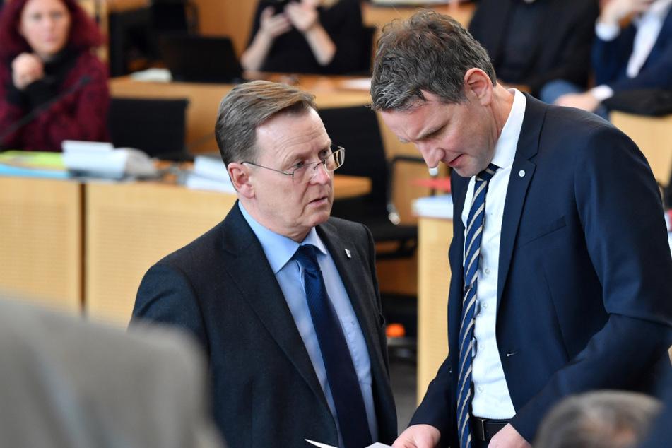 Thüringens Ministerpräsident Bodo Ramelow (64, Linke) und AfD-Fraktionschef Björn Höcke (48) haben ihre Immunität verloren.