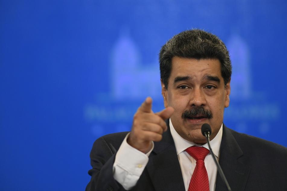 Nicolás Maduro (58) ist der Präsident von Venezuela.