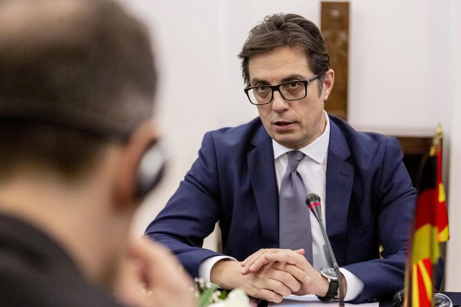 Stevo Pendarovski, Staatspräsident von Nordmazedonien.