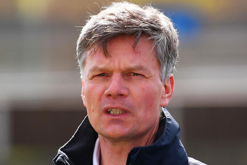 """Monarchs-Coach Ulrich Däuber (51) sprach von der """"besten Leistung in dieser Saison""""."""