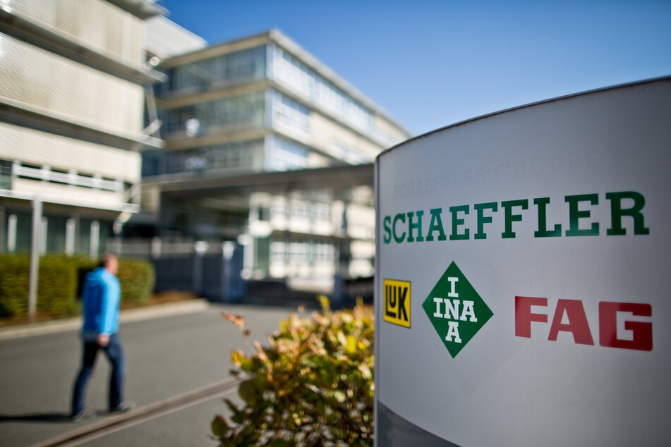 Der Eingangsbereich des Hauptsitzes der Schaeffler AG