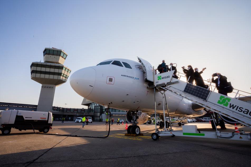 Das letzte Flugzeug ist vom Flughafen Tegel gestartet.