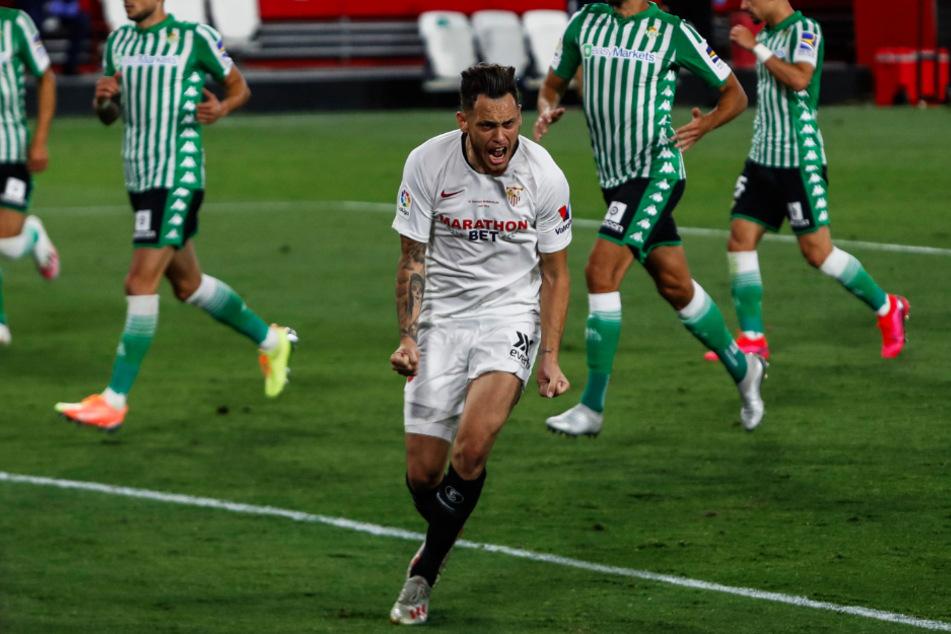Lucas Ocampos (25) spielt für den FC Sevilla die aktuell beste Saison seiner Karriere.