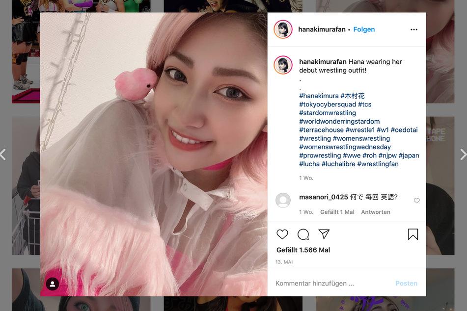Hana Kimura (22) zeigte sich gern fröhlich im Netz. Eine Gedenkseite auf Instagram sammelt diese Erinnerungen nun.