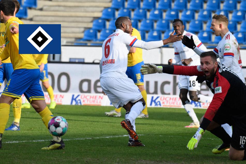 HSV beweist in Braunschweig Moral, dreht 0:2-Rückstand und feiert großen Erfolg!