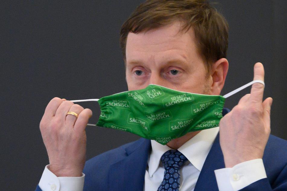Sachsens Ministerpräsident Michael Kretschmer (45, CDU) kündigte am Mittwoch in Dresden die Lockdown-Verlängerung bis 14. Februar an.