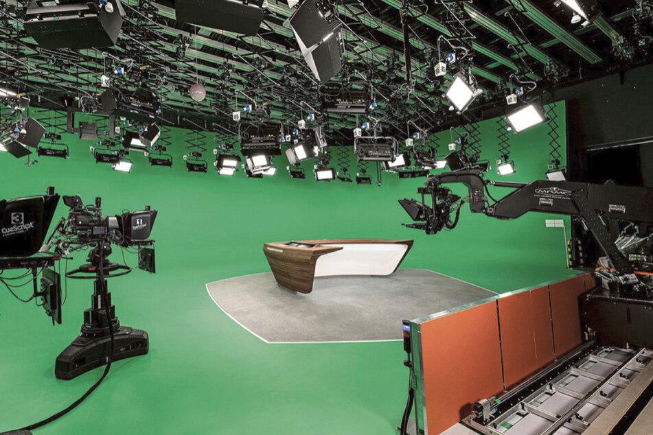 Das ZDF-Nachrichtenstudio hat eine Rundum-Erneuerung bekommen.