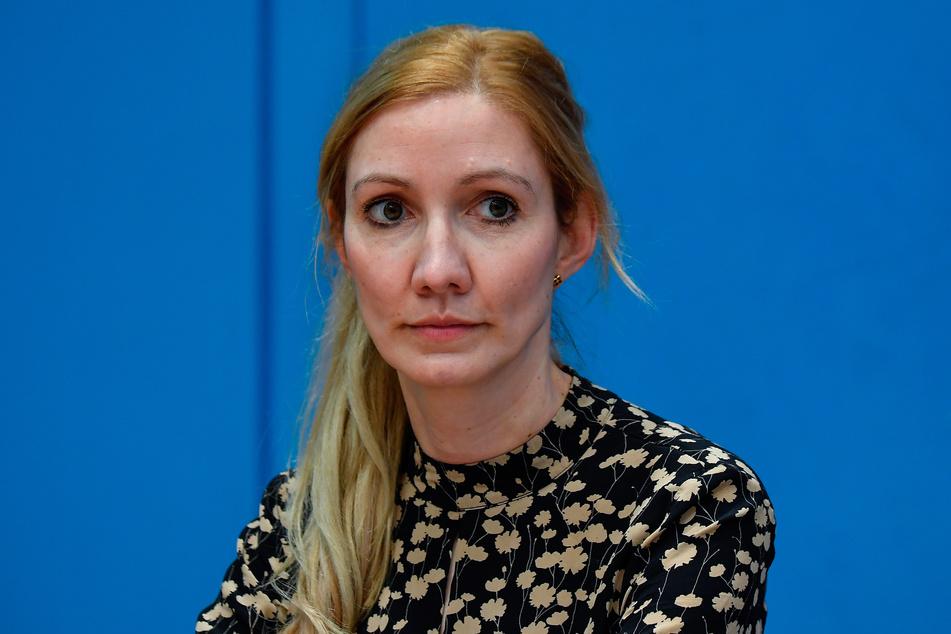 """Sandra Ciesek (43), Medizinerin und Virologin, empfindet die von der Regierung beschlossene """"Osterruhe"""" als zu kurz."""