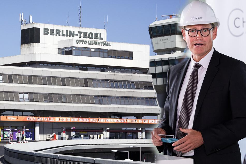 Michael Müller (SPD) will Corona-Tests auch in Tegel anbieten.