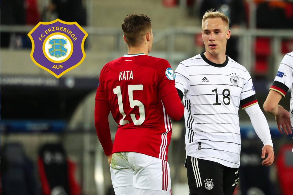 Liefert er in der Liga, könnte es für Aue-Stürmer Krüger in die EM-Finalrunde gehen