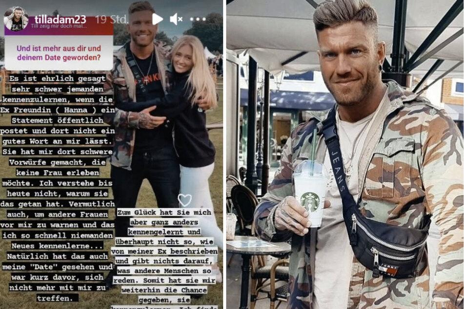 Till Adam (32) zeigte sich bei Instagram mit einer neuen Frau an seiner Seite.